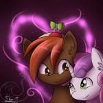2014 <3 beanie brown_eyes brown_hair button_mash_(mlp) couple cub cute duo equine eye_contact female friendship_is_magic glowing green_eyes hair hat hi_res horn horse hug male mammal my_little_pony pony propeller_hat purple_hair signature silverfox057 smile sparkles sweetie_belle_(mlp) two_tone_hair unicorn young   Rating: Safe  Score: 16  User: 2DUK  Date: February 11, 2014