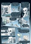 2018 allesiathehedge alphys animated_skeleton bone clothed clothing comic english_text female fur group hi_res lizard male mammal rat reptile rodent sans_(undertale) scalie skeleton text undead undertale video_gamesRating: SafeScore: 1User: Rysaerio-MisoeryDate: February 19, 2018
