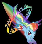 2014 absurd_res alpha_channel blue_fur equine female feral friendship_is_magic fur hair hi_res looking_at_viewer mammal multicolored_hair my_little_pony pegasus pink_eyes purple_eyes rainbow_dash_(mlp) rainbow_hair smile solo theshadowstone wings   Rating: Safe  Score: 8  User: Robinebra  Date: September 20, 2014