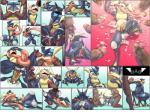 anal anal_penetration anus balls condom cum cum_in_ass cum_in_mouth cum_inflation cum_inside faceless_male fellatio gangbang gaping gaping_anus greninja group group_sex human inflation interspecies kivwolf looking_pleasured male male/male mammal nintendo oral penetration penis pokémon poképhilia sex smile spitroast tongue_scarf video_games  Rating: Explicit Score: 41 User: Pokelova Date: April 05, 2016