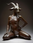 belly breasts caprine clothing colin_poole female goat hand_on_hip hand_on_thigh horn invalid_tag kneeling kristine_poole looking_at_viewer mammal sculpture smile solo thong   Rating: Questionable  Score: 6  User: Tragelaphus  Date: April 27, 2015