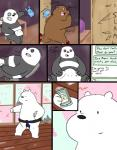 bear bed black_fur blush brown_fur bulge cherry_blossom comic computer dating_profile dialogue door drawing duo embarrassed end_table erection excited feline food fur graft_(artist) grizzly_(character) ice_bear internet karate karate_belt male male/male mammal panda panda_(character) phone pillow plushie rollerskates smile tiger tree vase we_bare_bears white_fur  Rating: Questionable Score: 6 User: zidanes123 Date: September 28, 2015