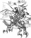 2009 anthro arthropod claws clothed clothing dragon horn hybrid insect legendz male melee_weapon monochrome muscular open_mouth polearm ranshiin scalie simple_background solo spear teeth tigerlilylucky traditional_media_(artwork) weapon white_background wings  Rating: Safe Score: 0 User: GameManiac Date: October 16, 2015