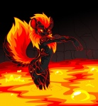 ambiguous_gender anthro bubble butt fluffy_tail fur lava mammal mandyseley neopets smile solo xweetok  Rating: Safe Score: 6 User: Chikita Date: February 08, 2016