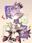 anthro bindi blaze_the_cat cat clothing english_text feline female fire forehead_gem fur gloves hair high_heels mammal plain_background ponytail purple_fur sitting solo sonic_(series) text tuft yellow_eyes   Rating: Safe  Score: 12  User: Rad_Dudesman  Date: September 12, 2014