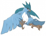 ambiguous_gender animal_genitalia articuno avian blush claws cloaca feathers feral legendary_pokémon nintendo pokémon red_eyes sarmon simple_background sitting solo video_games white_background wide_hips wings  Rating: Explicit Score: 8 User: chdgs Date: August 12, 2015