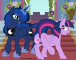 2015 anus blue_eyes blue_fur blue_hair butt cutie_mark dildo duo equine female female/female feral flower friendship_is_magic fur glowing hair hooves horn incorgnito insertion inside licking licking_lips long_hair magic mammal my_little_pony open_mouth penetration plant princess_luna_(mlp) purple_eyes purple_fur pussy raised_leg sex_toy tongue tongue_out twilight_sparkle_(mlp) underhoof vaginal vaginal_insertion vaginal_penetration winged_unicorn wings   Rating: Explicit  Score: 13  User: lemongrab  Date: March 19, 2015