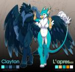 anthro avian clayton duo female flexing gryphon lapres male  Rating: Safe Score: 17 User: ShadeGryphon Date: September 12, 2015