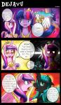 2015 changeling comic cutie_mark dialogue english_text equine eyes_closed female feral friendship_is_magic fur hair horn hug mammal multicolored_hair my_little_pony open_mouth pink_fur princess_cadance_(mlp) princess_celestia_(mlp) purple_eyes purple_fur purple_hair queen_chrysalis_(mlp) royalty sweat teeth text tongue twilight_sparkle_(mlp) unicorn vavacung white_fur winged_unicorn wings  Rating: Safe Score: 11 User: Robinebra Date: June 12, 2015""