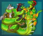 canine dragon group ladyvenommyotismon mammal multi_limb multiple_arms naga scalie   Rating: Questionable  Score: 0  User: h4x0r  Date: April 16, 2015