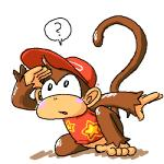 5_toes barefoot blush brown_fur clothing diddy_kong donkey_kong_(series) fur hat male mammal minus8 monkey nintendo plain_background primate solo toes video_games  Rating: Safe Score: 0 User: Cαnε751 Date: April 22, 2015""