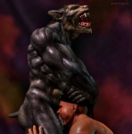 3d abs anthro biceps big_muscles black_howler canine cgi cum cum_in_mouth cum_inside deep_throat duo erection fangs fellatio huge_muscles human human_on_anthro interspecies male male/male mammal muscles nipples nude open_mouth oral pecs penis sex were werewolf   Rating: Explicit  Score: 26  User: furmann  Date: December 15, 2012
