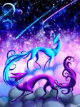 2015 ambiguous_gender blue_fur canine cloud cool_colors detailed_background duo feral fox fur mammal planet purple_fur ratte space spacescape spirit spiritfoxcat star  Rating: Safe Score: 7 User: NotMeNotYou Date: August 25, 2015