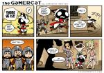 2014 <3 assassin's_creed cat clothing comic computer dialogue english_text feline female gamercat_(character) hay hay_bale humor male mammal melee_weapon open_mouth samantha_whitten sword templar text the_gamercat the_truth ubisoft video_games weapon  Rating: Safe Score: 15 User: Lies<->Truth Date: February 14, 2014