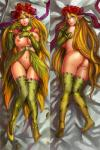 areola big_breasts bird's-eye_view blonde_hair blue_eyes braided_hair breasts butt character_request clothed clothing dakimakura_design digital_media_(artwork) ecoas elf female flower flower_in_hair footwear hair high-angle_shot humanoid long_hair looking_at_viewer lying on_back on_front plant pussy shoes skimpy solo  Rating: Explicit Score: 16 User: my_bad_english Date: November 28, 2015