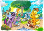 andy_price applejack_(mlp) avian bird book bubble bubble_gum canine cloud cover_art cutie_mark dancing dog dragon equine eyes_closed female feral flower friendship_is_magic group horn horse male mammal my_little_pony official_art outside owl owlowiscious_(mlp) plant pony princess princess_celestia_(mlp) royalty scalie spike_(mlp) sun tongue tongue_out traditional_media_(artwork) twilight_sparkle_(mlp) unicorn vinyl_scratch_(mlp) winged_unicorn wings winona_(mlp) wood   Rating: Safe  Score: 12  User: gfjkbdgfbg459yu4  Date: August 21, 2012