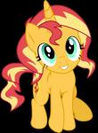 2016 absurd_res alpha_channel cutie_mark equestria_girls equine female feral fur green_eyes hair hi_res horn looking_at_viewer mammal multicolored_hair my_little_pony orange_fur pencils_(artist) simple_background smile solo sunset_shimmer_(eg) transparent_background two_tone_hair unicorn wings  Rating: Safe Score: 9 User: ConsciousDonkey Date: March 15, 2016