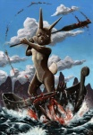 2008 angry anthro badger beating boat crimsonmagpie death drowning duo gore killing lagomorph male mammal mustelid partially_submerged rabbit scene sky vehicle violence water  Rating: Questionable Score: -2 User: Zedee Date: May 26, 2014