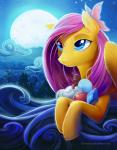 2015 apple arthropod blue_eyes book butterfly equine female fluttershy_(mlp) friendship_is_magic fruit gem hair insect mammal moon my_little_pony night pegasus pink_hair solo star viwrastupr wings   Rating: Safe  Score: 8  User: 2DUK  Date: May 18, 2015