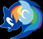 alpha_channel anthro blue_fur crossover duo equine female friendship_is_magic fur fuzon-s hair hedgehog horse male mammal multicolored_hair my_little_pony pony rainbow_dash_(mlp) rainbow_hair simple_background sonic_(series) sonic_the_hedgehog symbol transparent_background