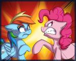 2014 duo earth_pony equine female feral friendship_is_magic hi_res horse mammal my_little_pony pegasus pinkie_pie_(mlp) pony rainbow_dash_(mlp) vicse wings   Rating: Safe  Score: 7  User: Robinebra  Date: May 18, 2015