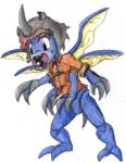 digimon izzy kabuterimon kanada male transformation  Rating: Safe Score: -1 User: Untamed Date: February 07, 2016