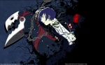 16:10 ambiguous_gender belt blue_background blue_eyes blue_hair chain clothed clothing coffin duo eyebrows fully_clothed grey_background hair hair_over_eye harness headphones hi_res human larger_male looking_away male mammal mask megami_tensei minato_arisato monster music_player not_furry open_mouth pants persona persona_(species) portrait running school_uniform shirt short_hair side_view simple_background size_difference smaller_male smoke teenager teeth thanatos three-quarter_portrait uniform unknown_artist url video_games wallpaper widescreen young