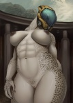 2015 abs alien anthro big_breasts breasts claws da_polar_inc female halo_(series) helmet muscular muscular_female navel nipples nude pussy sangheili solo spots thick_thighs video_games wide_hips  Rating: Explicit Score: 144 User: Bobcat Date: December 19, 2015