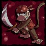5_toes bandanna barefoot brown_fur clothing diddy_kong donkey_kong_(series) fur male mammal monkey nintendo primate solo sword toes unknown_artist video_games weapon   Rating: Safe  Score: 1  User: Cαnε751  Date: April 22, 2015