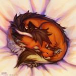 4_toes brown_hair claws dragon eyes_closed feral fox_dragon fur furred_dragon hair horn lukiri lying multicolored_fur orange_fur sleeping solo toes white_furRating: SafeScore: 5User: MillcoreDate: May 23, 2017