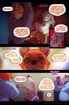 2018 anthro canine clothed clothing comic digital_media_(artwork) disney doxy english_text feline female fox fur hi_res judy_hopps lagomorph looking_at_viewer male mammal nick_wilde rabbit smile spread_legs spreading text tiger zootopiaRating: QuestionableScore: 26User: EeriePepperDate: March 20, 2018