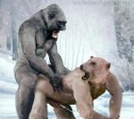 anal anal_penetration ape bear boar-red cum domination edit forest gorilla male male/male mammal muscles orgasm penetration photo_manipulation primate realistic tree winter  Rating: Explicit Score: 3 User: BoarRed Date: August 24, 2015