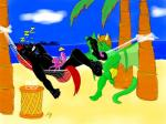 anthro beach drache dragon equine foot_fetish hindpaw horse leonides licking male mammal patrik paws seaside sleepy summer talpimado tickling tongue trade   Rating: Explicit  Score: 0  User: Patrik_Dragon  Date: January 22, 2014