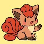 ambiguous_gender canine fox huiro mammal nintendo pokémon solo video_games vulpix  Rating: Safe Score: 4 User: tengger Date: July 15, 2015