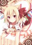 abstract_background ahoge all_fours animal_humanoid blonde_hair blush cat_humanoid cat_tail clothing crystal feline female flandre_scarlet hair humanoid legwear looking_at_viewer mammal red_eyes short_hair simple_background smile solo stockings toosaka_asagi touhou vampire wings  Rating: Questionable Score: 5 User: Fluttershy Date: January 27, 2014