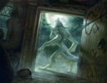 canine female howl magic_the_gathering mammal official_art solo unknown_artist were werewolf wizards_of_the_coast  Rating: Safe Score: 10 User: CatBox Date: July 02, 2013