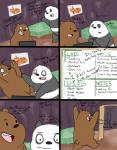 bear bed black_fur brown_fur comic computer dating_profile dialogue drawing duo excited feline food fur graft_(artist) grizzly_(character) ice_bear internet male male/male mammal panda panda_(character) smile tiger we_bare_bears white_fur  Rating: Safe Score: 1 User: zidanes123 Date: September 23, 2015