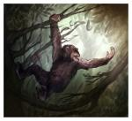 anthro ape baboon fur hair male mammal monkey nude prehensile_feet primate rogueliger solo  Rating: Questionable Score: 1 User: Autumn~PrimateSky Date: November 12, 2015