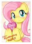 2013 <3 blush cute equine female feral fluttershy_(mlp) friendship_is_magic furboz hair hi_res horse looking_at_viewer mammal my_little_pony pink_hair pony smile solo text  Rating: Safe Score: 13 User: Egekilde Date: January 27, 2016