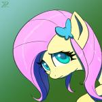 2013 equine female fluttershy_(mlp) friendship_is_magic green_eyes hair horse looking_at_viewer my_little_pony pink_hair pony portrait raikoh-illust solo   Rating: Safe  Score: 9  User: anthroking  Date: December 14, 2013