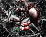 anthro arachnid arthropod balls big_balls big_penis bound digital_media_(artwork) duo forced fugueraven green_scales insect male nightmare_fuel oviposition penetration penis scales scalie spider spiderweb teeth urethral urethral_penetration vein yelling  Rating: Explicit Score: 0 User: viprts Date: September 12, 2015