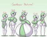 5:4 big_breasts breast_size_difference breasts brown_eyes cleavage clothed clothing english_text eyelashes female gardevoir group hair hi_res huge_breasts humanoid larger_female limebreaker looking_at_viewer nintendo not_furry partially_clothed pokémon size_difference smaller_female text thick_thighs video_games wide_hipsRating: QuestionableScore: 7User: facelessmessDate: September 23, 2017