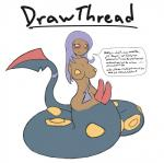 anthro armless blush breasts brown_skin dickgirl english_text hemipenes intersex lamia looking_at_viewer multi_cock nintendo penis pokémon precum red_sclera seviper solo text thetransformtentacle video_games   Rating: Explicit  Score: -1  User: Juni221  Date: September 02, 2014