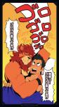 angry blush duo feline hug human japanese_text kurokawasudou lion male male/male mammal purring smile text ゴゴゴゴゴ  Rating: Safe Score: 2 User: Striderfurry Date: July 01, 2016