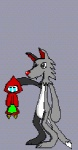 abdominal_bulge animated anthro canine feet_first female human little_red_riding_hood little_red_riding_hood_(copyright) low_res male mammal rogerrog struggling swallowing vore wolf   Rating: Safe  Score: 1  User: Frostking23  Date: October 06, 2011