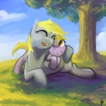 2012 blonde_hair child cloud cub cutie_mark daughter derpy_hooves_(mlp) dinky_hooves_(mlp) duo equine female feral friendship_is_magic grass hair hobbes_maxwell horn hug mammal mother my_little_pony outside parent pegasus sky smile tree unicorn wings wood young  Rating: Safe Score: 7 User: Hobbes_Maxwell Date: March 03, 2012