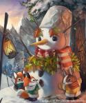 2014 bucket canine coat cub cute fox lagomorph lantern leaves mammal outside rabbit scarf silverfox5213 snow snowman sunset tree winter young   Rating: Safe  Score: 2  User: tony311  Date: January 29, 2014