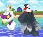 amelia_(animal_crossing) animal_crossing anthro avian ball beach beach_ball beak big_breasts big_butt bikini bird blush breasts butt celia_(animal_crossing) cleavage clothed clothing duo eagle feathers female house huge_breasts nintendo nipple_slip open_mouth outside palm_tree pdxyz sea seaside sling_bikini swimsuit tree video_games water wet  Rating: Questionable Score: 12 User: ROTHY Date: September 30, 2015