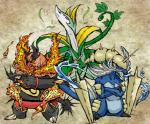 ambiguous_gender emboar nintendo pokémon samurott serperior source_request unknown_artist video_games