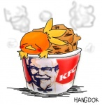 ambiguous_gender avian beak bird bucket chicken hangdok kfc nintendo pokémon solo torchic video_games  Rating: Safe Score: 2 User: cookiekangaroo Date: March 01, 2012